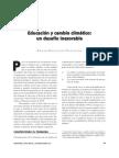 3.1 Educacion y Cambio Climatico