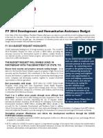 Budget sheet