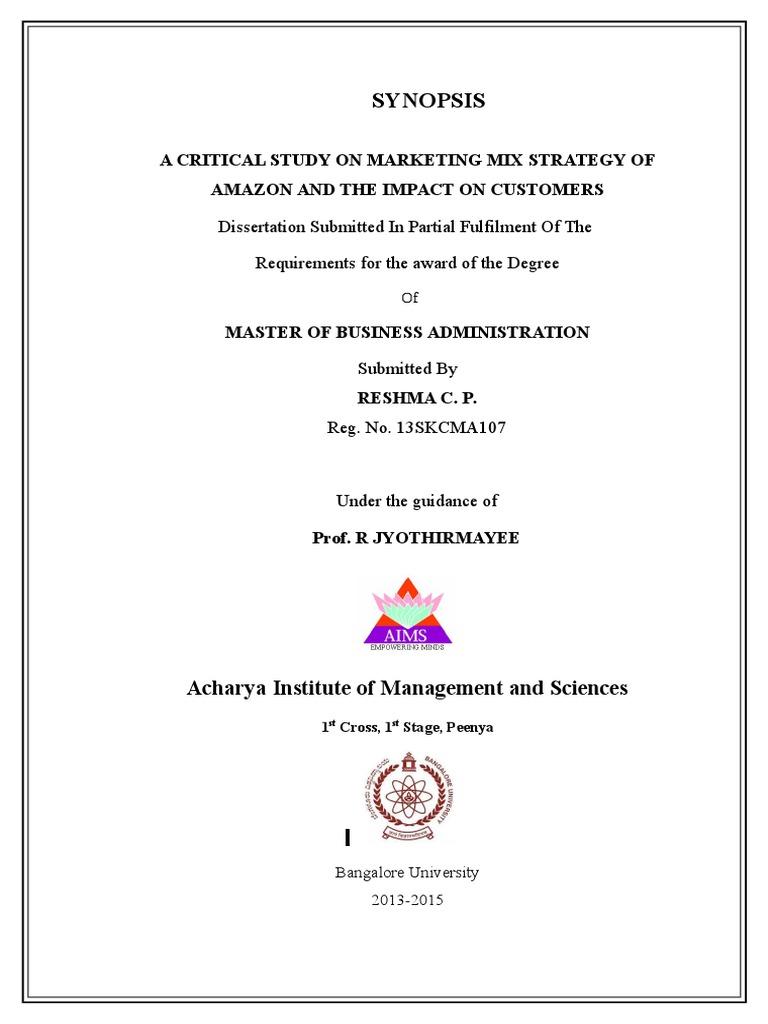 Buy MBA dissertation 📝 online - Studenterra