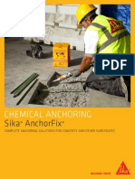 Anchorfix Range Brochure