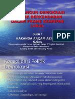 Membangun Demokrasi Politik Berkeadaban Dalam Frame Kearifan Lokal