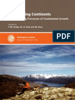 The Evolving Continents Understanding the Processes of Continental Growth