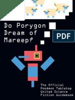 Do Porygon Dream of Mareep