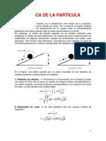 3.- Dinamica de La Particula