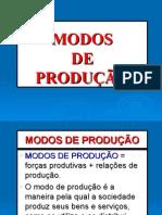Modos de Produção