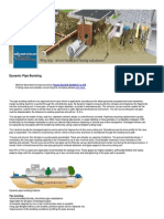 Dynamic Pipe Bursting ___ Nodig-construction