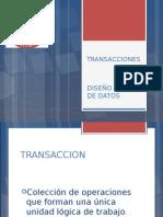 Transacciones Base de Datos