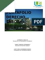 PORTAFOLIO DERECHO LABORAL TERCER CORTE
