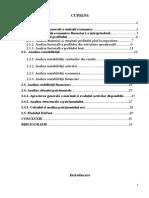 Analiza Economico-Financiara a Unei Intreprinderi - SC Lidersport SRL