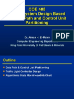 Digital System Design Based on Data Path and Control Unit