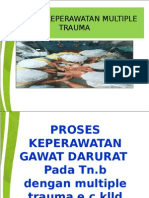 Askep Gadar Multiple trauma Tn B