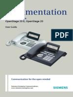 User Manual OpenStage 20 HFA HP3000-HP5000