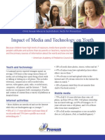 Impact of Media and Technology on Youth 2013
