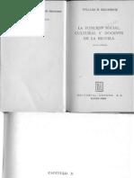 Kilpatrick - La Función Social de La Educación