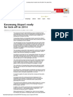 Karawang Airport Ready for Kick-Off in 2014_October 11, 2014_The Jakarta Post