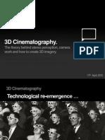 3d Cinematography