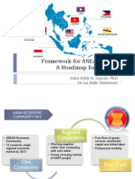 Framework for ASEAN 2015 a Roadmap for Schools Dr John Addy Gar (1)