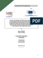 E Study DBB Electronic Processing Construction Estonia 2014 En