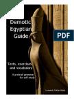 Leonardo_Caldas Vieira, Demotic Egyptian Guide