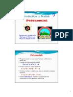 09 Matlab Polynomial