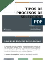 Tipos de Proceso de Seleccion