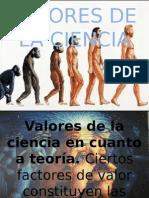 Valores de La Ciencia