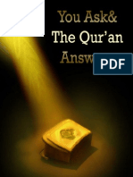 you ask and the Quran answers