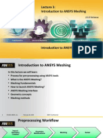 Mesh-Intro 15.0 L03 Introduction to Ansys Meshing