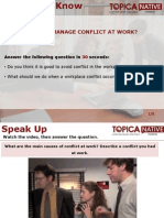 How to Manage Conflict at Work
