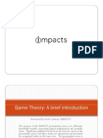 Game Theory Overview Presentation by Scott Corwon of IMPACTS