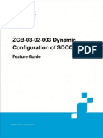 GERAN UR13 ZGB-03!02!003 Dynamic Configuration of SDCCH Feature Guide (V4)_V1.0