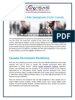 Canada Permanent Residency and Federal Skill Worker Visa Canada