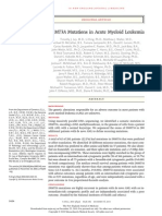 NEJMoa1005143 DNMT3A Mutations in Acute Myeloid Leukemia