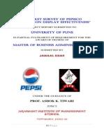 Market Survey of PepsiCo Retailers on Display Effectiveness