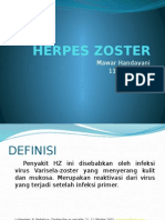 Herpes Zoster Ppt Pkm