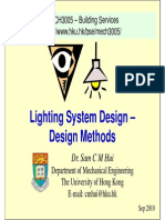 Lighting System Design