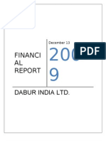 Financial Report Dabur