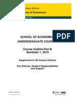 Economics Course Outline UG S12015 PartB