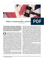 10013535 Politics Constitutionalism and the Rule of Law