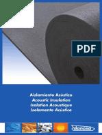Catálogo de Produtos Para o Isolamento Acústico - DANOSA