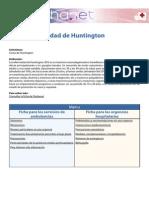Urgencia Huntington