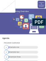 Marketing Planning Customizable PPT Template