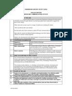 Parkinsons Disease Society (Pds) Job Description Media