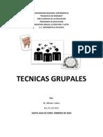 Técnicas Grupales