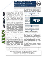 Monthly Report on Dengue Entomological Surveillance Vol. 02 :Issue 02  2015