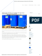 Elaboração de FDSR - Planitox