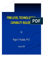 Firm Level Technological Capability Building