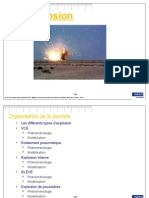 III Explosion Modelisation