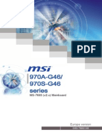 Manual MB MSI 970A-G46 Multi