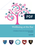 Wellbeing at the Bar Report